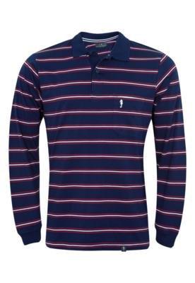 Camisa Polo Pier Nine New Azul