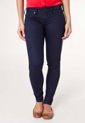 Calça Jeans MNG Barcelona Slim Fit Paty Azul