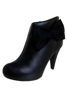 Ankle Boot Dijean Laço Preta