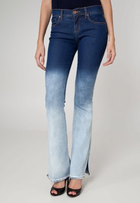 Calça Jeans Sommer Flare Agata Unic Azul