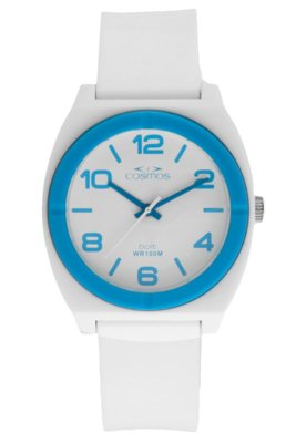 Relógio Cosmos OS48676F Branco