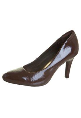 Sapato Scarpin Anna Flynn Chocolate Marrom