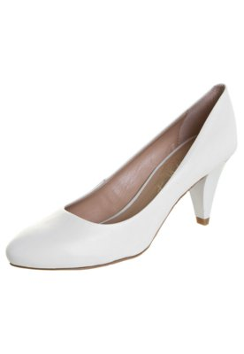 Sapato Scarpin Lilly's Closet Salto Médio Básico Branco
