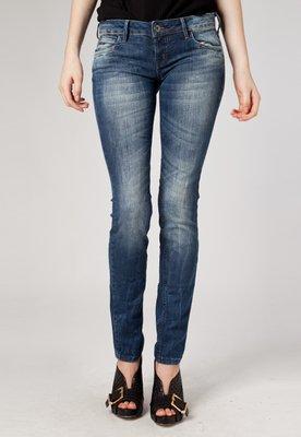 Calça Jeans Ester Skinny Estonada Azul - Forum