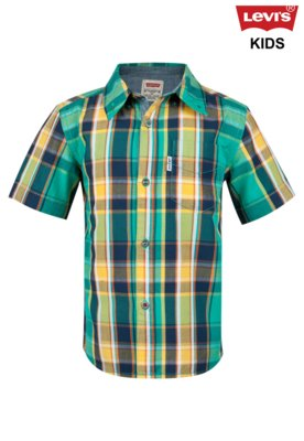 Camisa Levis Kids Belgrade One Pocket SPectra Xadrez