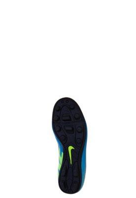 Chuteira Campo Nike Jr. Mercurial Vortex FG-R Azul