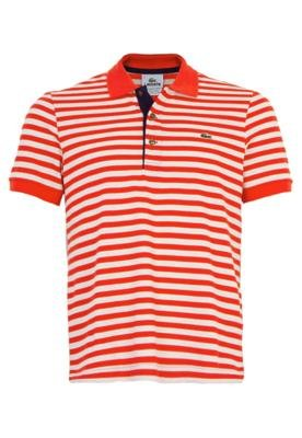 Camisa Polo Portugal Lacoste Listrada