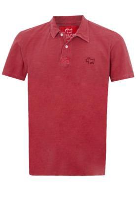 Camisa Polo Huck University Vermelha