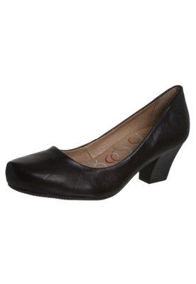 Sapato Scarpin Bottero Salto Baixo Básico Preto