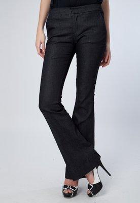 Calça Jeans Flare Petunia Preta - Bobstore