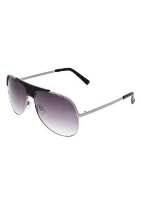 Óculos Solar FiveBlu Textura Prata
