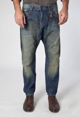 Calça Jeans Cenoura Cowboy Azul - Cavalera