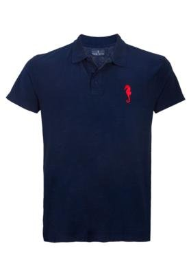 Camisa Polo Pier Nine Brand Azul