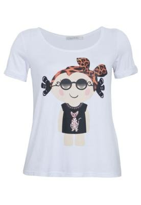 Blusa Lucy in The Sky Doll Branca