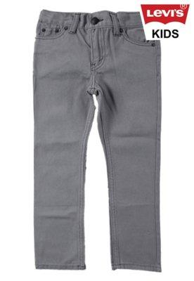 Calça Jeans Levi's Kids Skinny 511 Clean Azul
