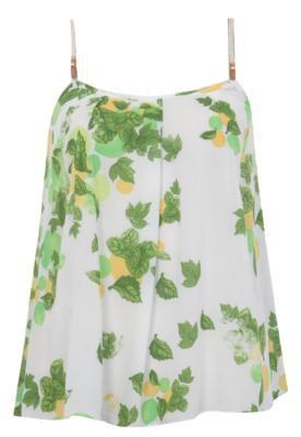 Blusa Dress To Tropical Branca