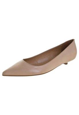 Sapato Scarpin Andarella Basic Bege