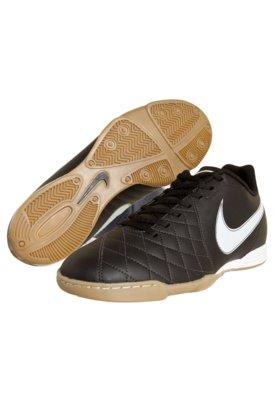 Chuteira Futsal Nike Flare Preta