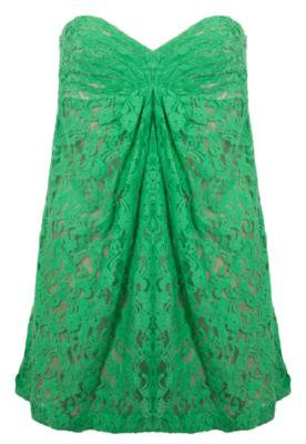 Vestido Renda Rock Lily Samy Verde
