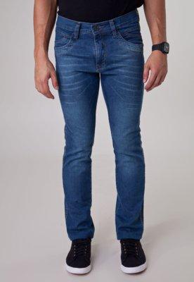 Calça Jeans Fatal Surf Reta Urban Azul