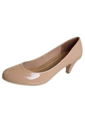 Sapato Scarpin Pink Connection Verniz Nude