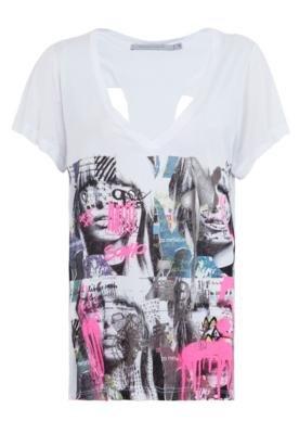 Blusa Espaço Fashion Grafitte Branca