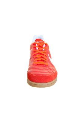 Chuteira Indoor Nike Tiempo Natural IV LTR IC Vermelha