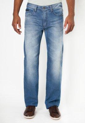 Calça Jeans Calvin Klein Jeans Reta Morning Azul