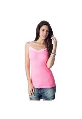 Blusa Renda Rosa - Shoulder
