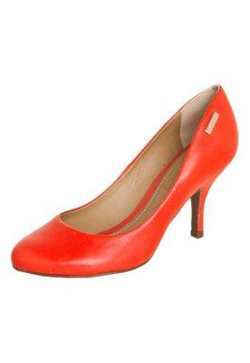 Sapato Scarpin Dumond Salto Médio Vermelho