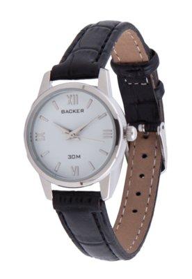 Relógio Backer W1600122F Prata