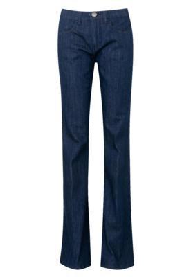 Calça Jeans Carina Duek Flare Sabrina Azul