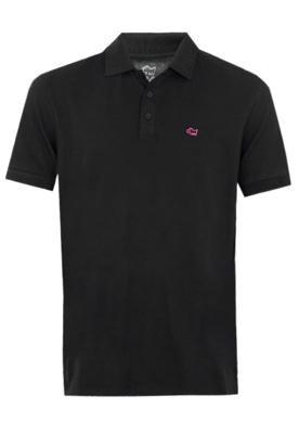 Camisa Polo Huck Brand Preta