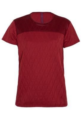 Blusa Clássica Recorte Vermelha - Sommer