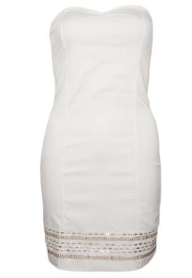 Vestido Anna Flynn Lower Off-white