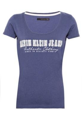 Blusa Calvin Klein Jeans Authentic Azul