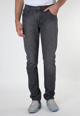Calça Jeans Skinny Estonada Preta - M. Officer