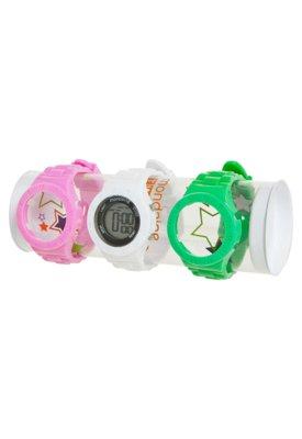 Kit Relógio Troca Pulseira Mondaine 78404L0MCNP1K Branco/Ve...
