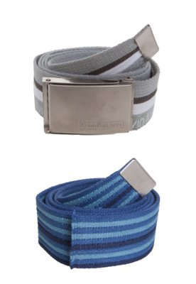 Kit Cinto Calvin Klein Modern Azul/Cinza