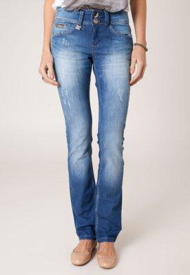 Calça Jeans Osmoze Reta Rise Azul