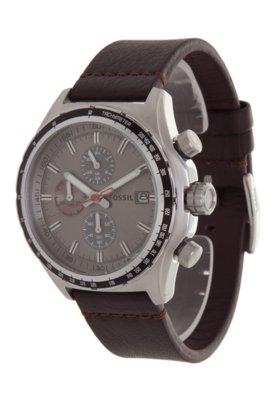 Relógio Fossil FCH2787Z Marrom Escuro