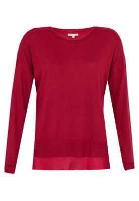 Blusa Carina Duek Sara Vermelha