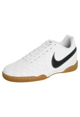 Chuteira Futsal Nike Jr Flare Branca