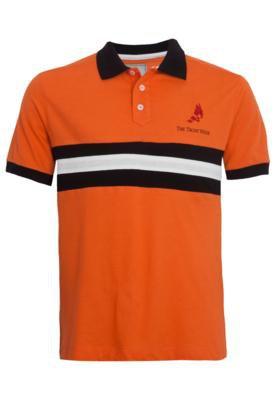 Camisa Polo The Yacht Week Board Laranja