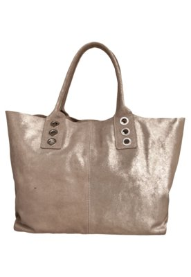 Bolsa Sacola Espaço Fashion Ilhoses Prata