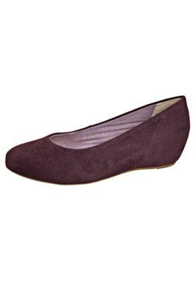 Sapato Scarpin Liso Vinho - FiveBlu