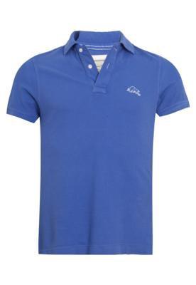 Camisa Polo Rich Búfalo Azul