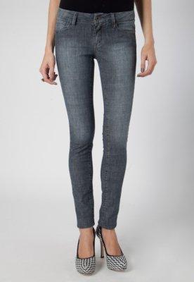 Calça Jeans Pink Connection SPikes Skinny Preta