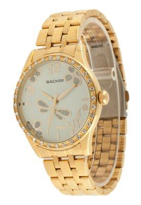 Relógio Backer W 3048145F Dourado