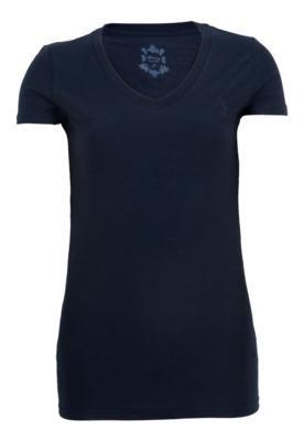 Blusa Aleatory Bordado Azul